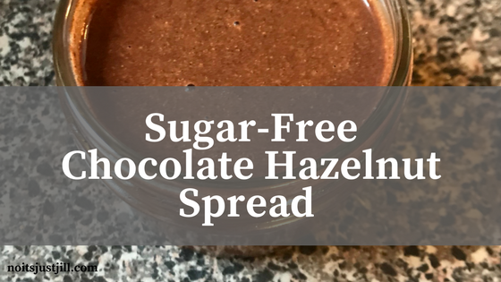 Sugar-Free Chocolate Hazelnut Spread